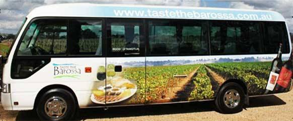 Taste The Barossa 20 Seat Capacity Toyota Coaster